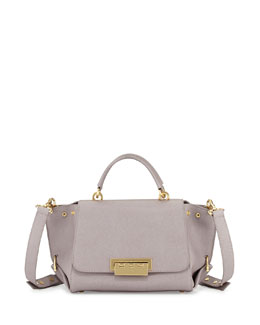 Z Spoke Zac Posen Eartha Small Saffiano Satchel Bag, Thistle