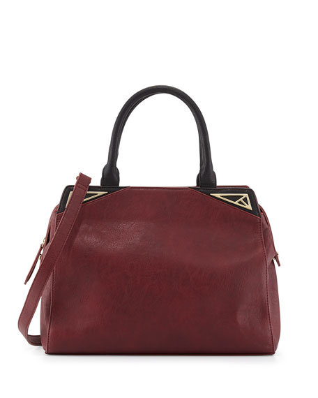 Zip-Top Tote Bag, Wine