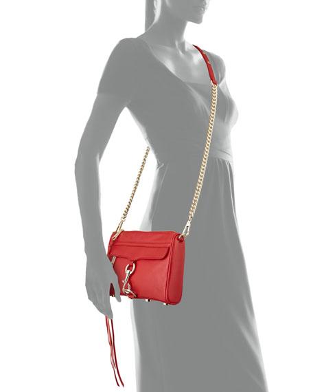 Mini MAC Crossbody Bag, Crimson