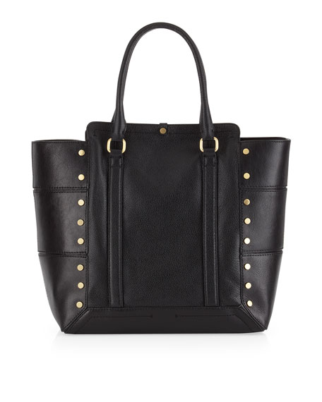 Parker Stud Tote Bag, Black