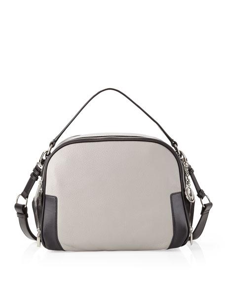 Jana Convertible Bag, Black/Gray