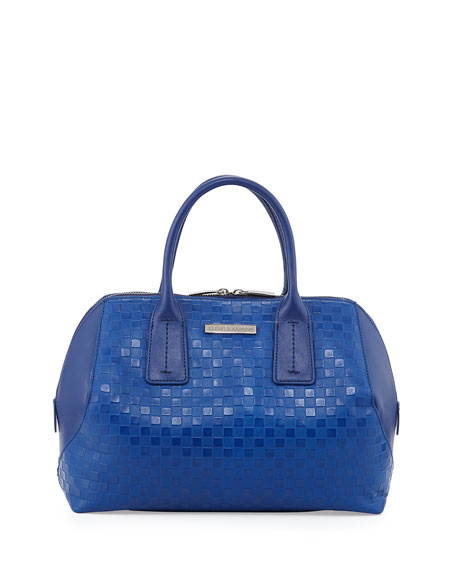 Kamea Speedy Satchel Bag, Indigo