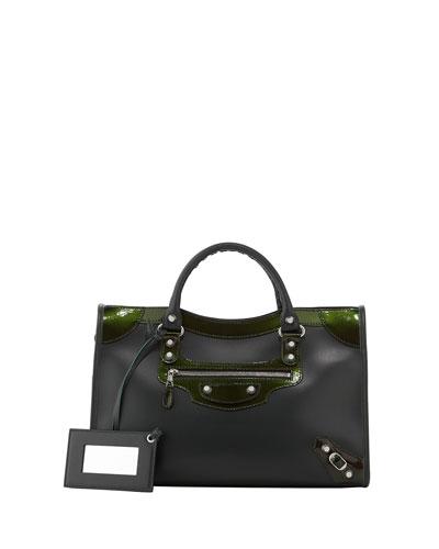 Balenciaga Giant 12 Nickel City Bag, Green