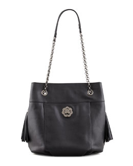 Eric Javits Tina Shoulder Bag, Black
