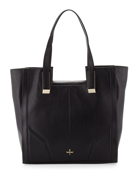 Astrid Square Tote Bag, Black
