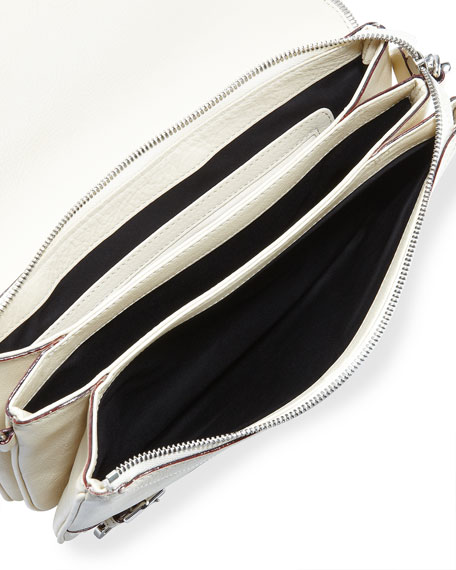 Maria Triple-Pocket Shoulder Bag