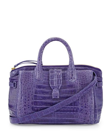 Nancy gonzalez large crocodile tote bag purple made to for Nancy gonzalez crocodile tote