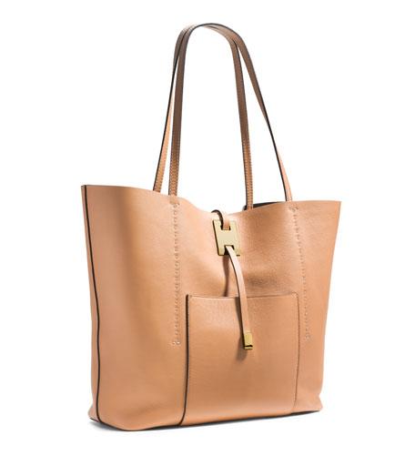 Miranda Large Tote Bag, Peanut