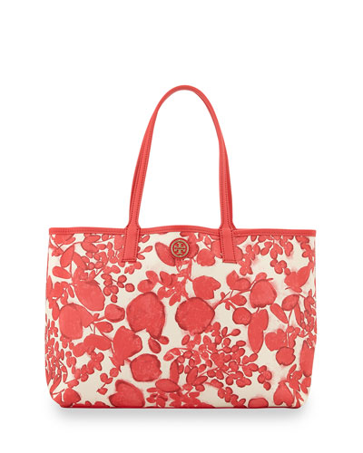 Tory Burch Kerrington Floral-Print Shopper Bag, Issy
