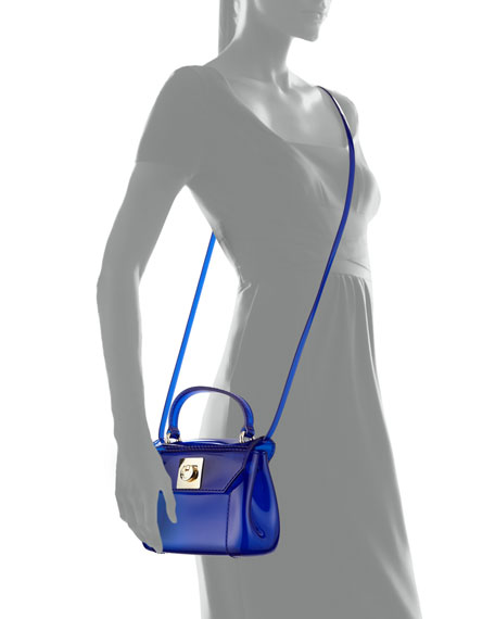 Candy Bon Bon Mini Crossbody Bag, Ocean