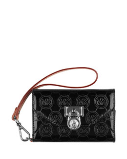 MICHAEL Michael Kors  Jet Set Clutch Bag Phone Wallet Case