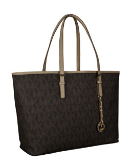 MICHAEL Michael Kors  Jet Set Logo Laptop Travel Tote