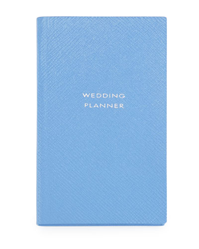 """Wedding Planner"" Panama Notebook, Blue"