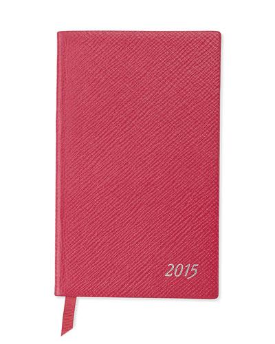 2015 Panama Diary with Pocket, Fuchsia