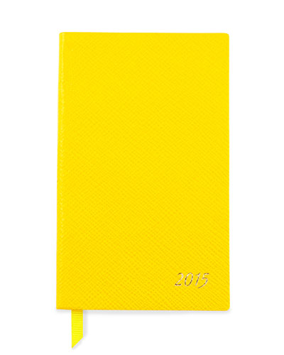 2015 Panama Diary with Pocket, Yellow