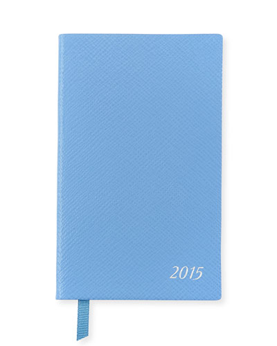2015 Panama Diary with Pocket, Cobalt