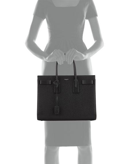 Saint Laurent Sac de Jour Medium Tote Bag, Black