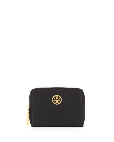 Robinson Zip Coin Case, Black