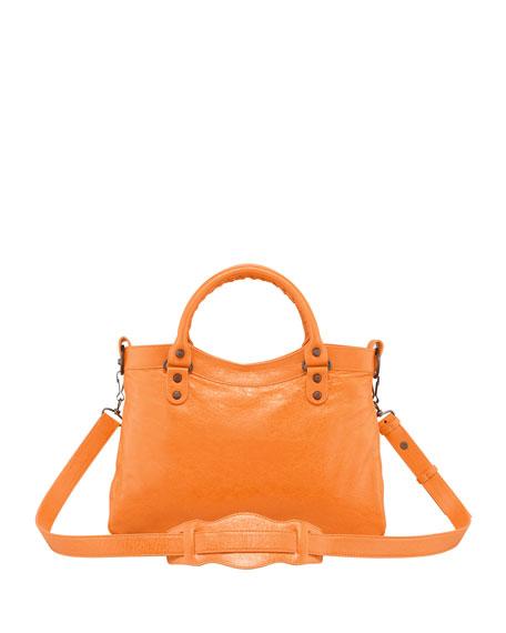 Classic Town Tote Bag, Tangerine