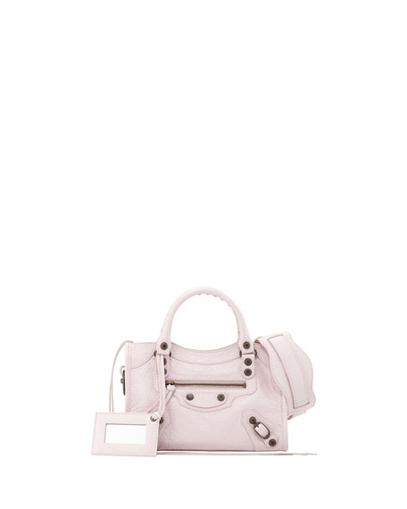 Classic Mini City Bag, Rose