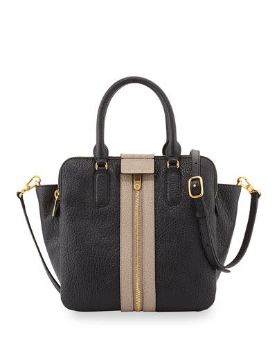 MARC by Marc Jacobs Roadster Leather Tote Bag, Black Multi