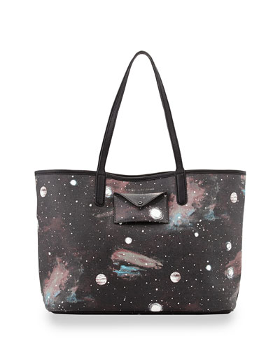 MARC by Marc Jacobs Metropolitote Stargazer Tote Bag, Black