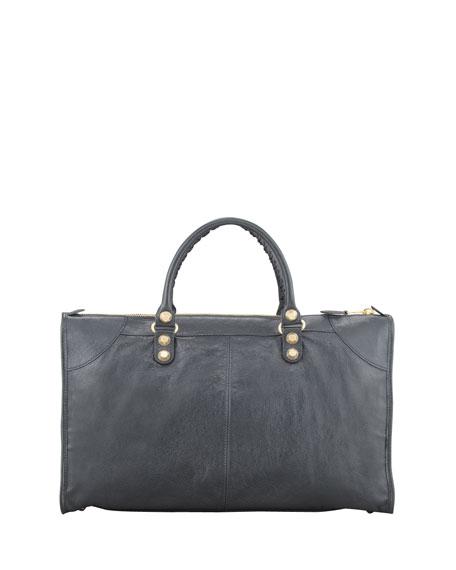 5530eae6a8 Balenciaga Giant 12 Golden Work Bag, Anthracite