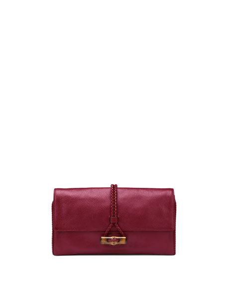 b03253a8c710d6 Dark Red Leather Clutch Bag | Stanford Center for Opportunity Policy ...