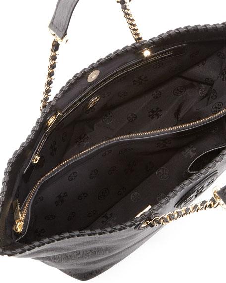 Marion East-West Tote Bag, Black