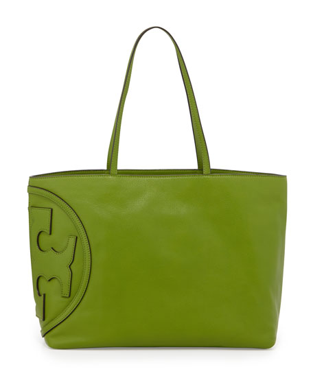 All T East-West Tote Bag, Leaf Green