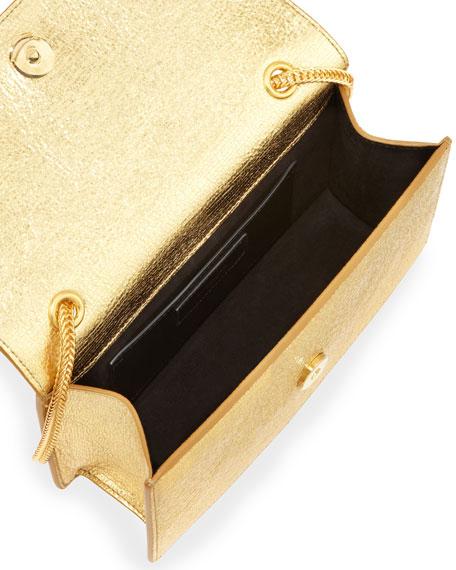 Saint Laurent Betty Mini Chain Shoulder Bag, Oro