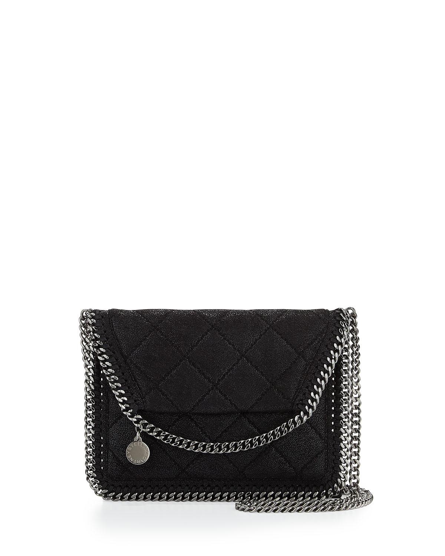 e0835d79c587 Stella McCartney Falabella Mini Crossbody Quilt Bag