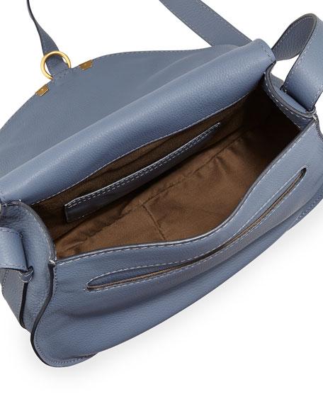 Marcie Small Satchel Bag, Street Blue
