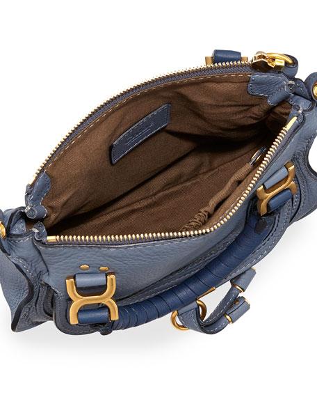Marcie Mini Shoulder Bag, Street Blue