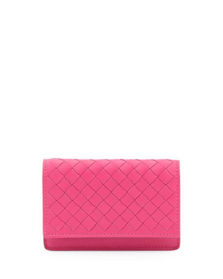 5/6 Flip Credit Card Case, Rosa Fuchsia