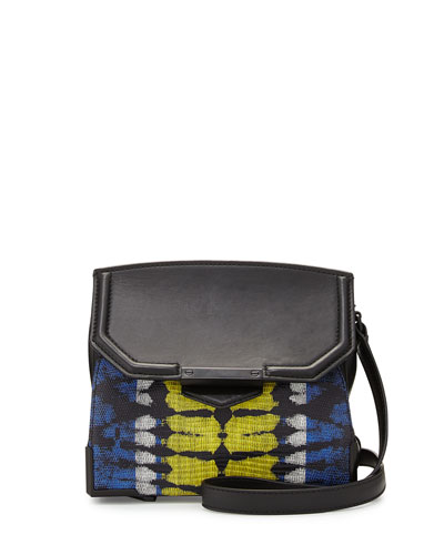 Marion Prisma Skeletal Embossed Shoulder Bag