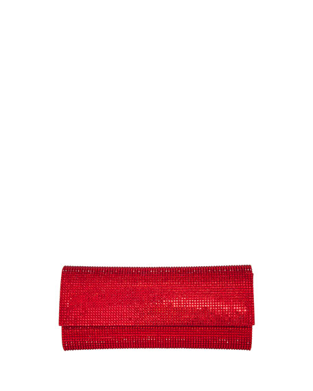 Judith Leiber Couture Ritz Fizz Crystal Clutch Bag,