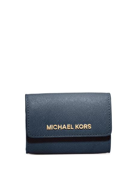 cfd586e6dfb4b MICHAEL Michael Kors Jet Set Saffiano Travel Coin Purse