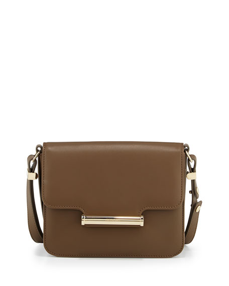 Diane Small Flap Crossbody Bag, Army