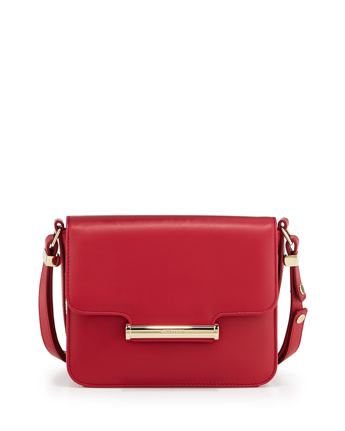 Diane Small Flap Crossbody Bag Red