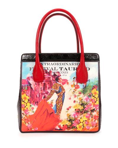 Dolce & Gabbana Last Minute Bullfighter Tote Bag