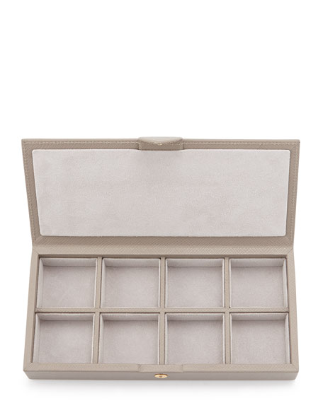 Panama Cuff Link Box, Gray