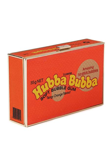 Imperial Framed Clutch Bag, Soft Bubble Gum