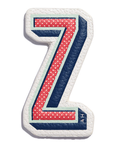"""Z"" Leather Sticker for Handbag"