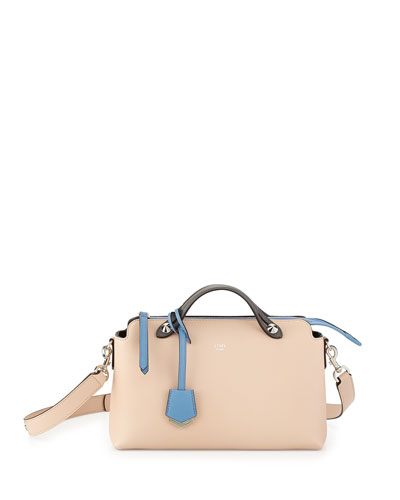Fendi By the Way Small Satchel Bag, Light Pink