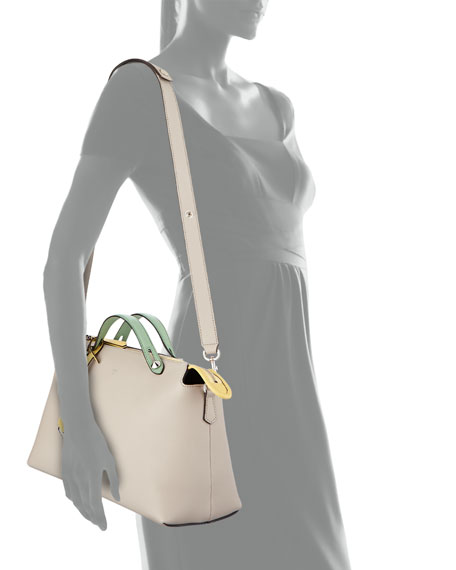 By The Way Large Satchel Bag, Gray