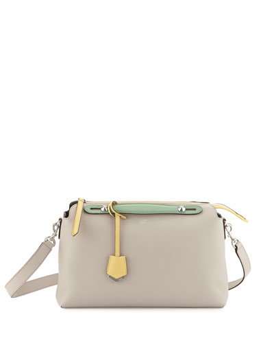 Fendi By The Way Large Satchel Bag, Gray