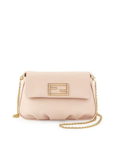 Fendi Fendista Pochette Crossbody Bag, Light Pink