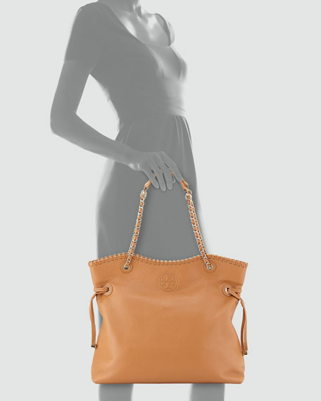 Marion Slouchy Tote Bag, Bark