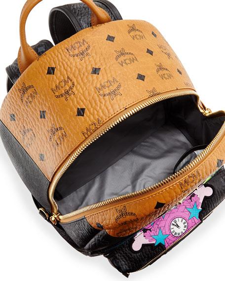 Stefan Strumbel Medium Backpack, Cognac/Black